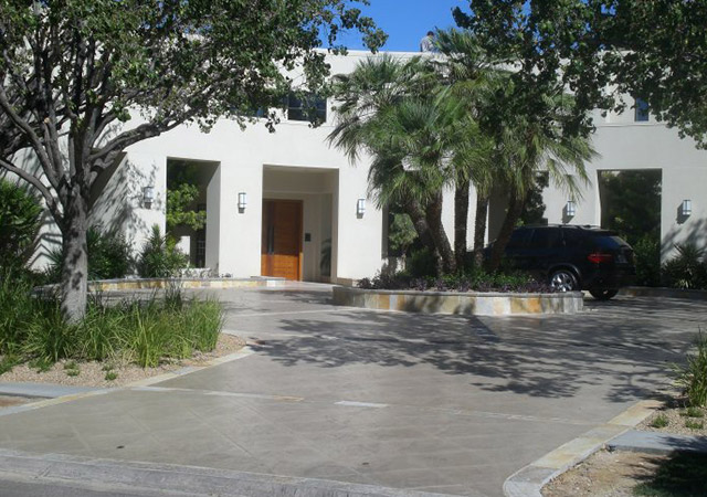 custom luxury remodel exterior in southern Nevada